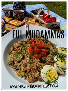 This beloved Arab dish of Ful Mudammas features warm favas seasoned with herbs, olive oil, and lemon juice. It is a nutritious and delicious vegan recipe eaten for breakfast or any time of day! Middle East Food, Food Insecurity, Fava Beans, Bean Dip, Delicious Vegan Recipes, Kung Pao Chicken, Family Meals, Cobb Salad, Paleo