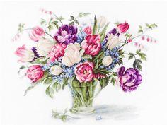 Tulips bouquet kit
