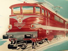 Locomotive, Trains, Train Drawing, Train Posters, Ho Scale, Picture Video, France, Vintage, Mini