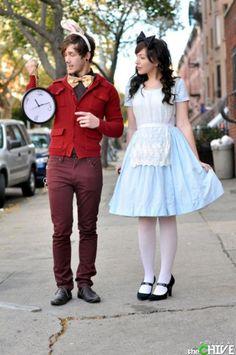 Funky Alice in Wonderland dress