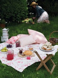 nothing like a romantic picnic..