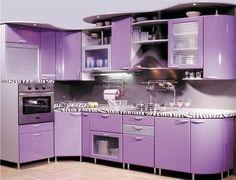 Purple kitchen for a purple home!