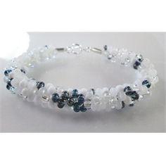 Kumihimo Beaded Bracelet - Apparition