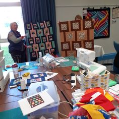 The ladies were busy, busy, busy at our leap Weekend Quilting retreat! Why not come and join us and escape for the weekend at one of our upcoming retreats? Busy Busy, Me Time, Create Your Own, Quilting, Join, Learning, Sewing, Fabric, Pattern