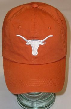 University of Texas Longhorns Baseball Cap One Size Fits All Adjustable Preowned #Signatures #TexasLonghorns