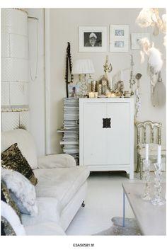 White and metallic