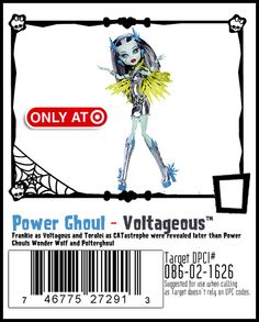 Power Ghoul Frankie Stein