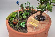 O nome Harmonia combinou muito com a paisagem deste Mini Jardim. O banco estilo…