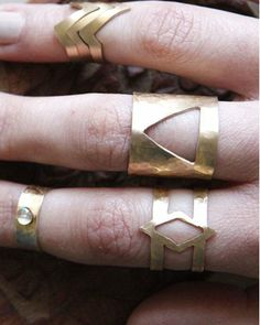 brass rings ∆