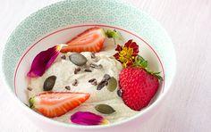 Vanilla Cinnamon Cashew Yogurt [Vegan, Raw, Gluten-Free] | One Green Planet