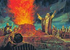 el blog del padre eduardo: Curso bíblico: 34. El profeta Elías