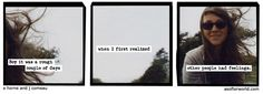 A Softer World: 883  Again, another idea of a kind of theme.  Also the imagery and the color palate are worth exploring