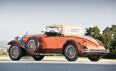 1930 Packard 734 Speedster Boattail Runabout - side/rear