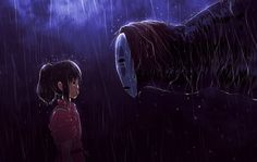 Don't you have any family? (Spirited Away Fanart) by AngelBunnyXOXO