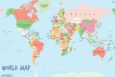 Buy world latitude and longitude map pinterest native gardens buy world map art scribble gumiabroncs Images