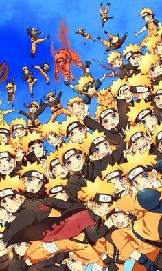 So. Many. SHADOW CLONE JUTSU!!!!!