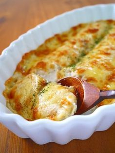 長芋のダブルチーズグラタン♪クリスマスパーティーに作りたい簡単おもてなしレシピ。お酒のおつまみにも:★みぃのおいしいおうち★
