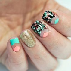 2015 nail art | Related: Nail Art Designs Inspired From Spring 2015 Runway