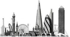 london skyline buildings - Google Search