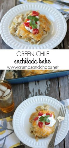 Green Chile Enchilad