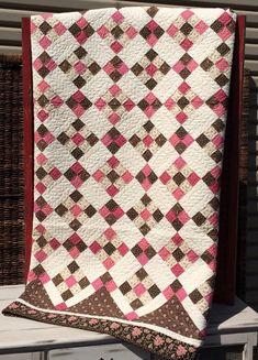 Around the Block Quilt Kit by myreddoordesigns