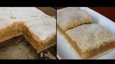 Geniálny koláč z prvej republiky: Cukrárske jablkové rezy ako od babičky! Slovak Recipes, Cornbread, Cheesecake, Health, Ethnic Recipes, Food, Knots, Cakes, Recipes