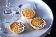 Tangelo curd tartlets