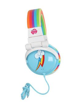 my little pony - rainbow dash headphones