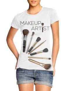 Wright Printers - Makeup Artist T-shirt, $20.00 (http://www.wrightprinters.com/makeup-artist-t-shirt/)