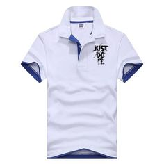 a26bcc5fb 2018 New Fashion Camisetas Short Sleeve Polo Masculinas Turn Down Collar  Summer Casual Men's JUST TO