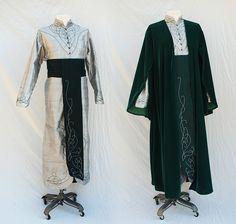 Silver and Green Elrond