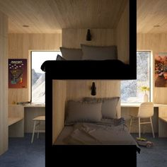 Clever Solutions To Problems That Small Space Owners Have Small Space Living, Small Rooms, Small Spaces, Living Spaces, Bedroom Small, Bedroom Black, Living Room, Bed Storage, Storage Spaces