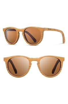 Shwood+'Belmont'+48mm+Polarized+Wood+Sunglasses+available+at+#Nordstrom