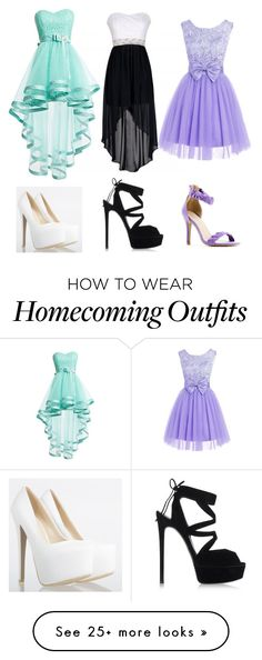 """""""Prom = which one?"""" by caraghniamh on Polyvore featuring Casadei and Sergio Bari"""