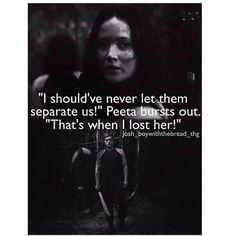 Peeta in Mockingjay: