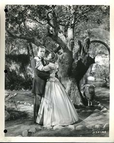 JEANETTE MACDONALD AND NELSON EDDY IN THE GIRL OF THE GOLDEN WEST - ESCANO COLLECTION