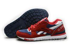 new styles 02932 98cc4 Reebok GL6000 Mens Classic Running Red Deepblue Top Deals GjTAG, Price    74.00 - Nike Rift Shoes