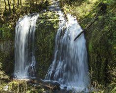 Upper McCord Falls, Oregon Portland Food Carts, Oregon Waterfalls, Oregon Road Trip, Wonderful Places, Places To See, Free Images, Conversation, Hiking, Explore