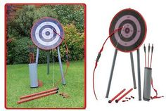 Garden #archery set game #outdoor fun bow arrows target blow pipe & #darts party,  View more on the LINK: http://www.zeppy.io/product/gb/2/291718118219/