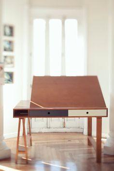 Hazte un mueble. O dos: Una mesa de dibujo
