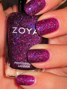 zoya polish- smoothest most flawless nail polish.