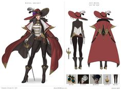 Kai Fine Art is an art website, shows painting and illustration works all over the world. Character Model Sheet, Character Modeling, Character Concept, Character Art, Character Design, Character Ideas, Concept Art, Knight Outfit, Middle Ages Clothing