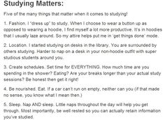 Here are 5 tips that really matter when it comes to studying! Have you tried any… - SCHOOL MOTIVATION School Life Hacks, College Life Hacks, School Study Tips, College Tips, School Tips, School Ideas, School Motivation, Study Motivation, Studyblr