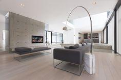 Home Automation - Livingdam - Domotics Home Theaters, Home Automation System, Smart Home Automation, Decor Interior Design, Interior Design Living Room, Build Your Dream Home, Dream House Plans, Home Entertainment, House Design