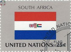 national flag on UN stamp: south africa National Flag, Postage Stamps, South Africa, Growing Up, Birth, The Unit, History, Life, Flags