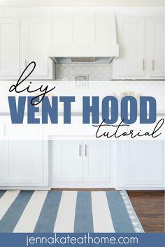 Stove Vent Hood, Kitchen Vent Hood, Oven Hood, Stove Hoods, Kitchen Stove, Joanna Gaines, Range Hood Cover, Range Hoods, Recirculating Range Hood