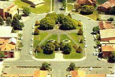 Aerial view of Monash Square Yallourn