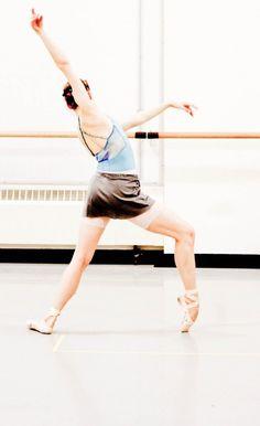 Pacific Northwest Ballet's Liz Murphy, photo by Lindsay Thomas