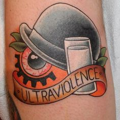 A Clockwork Orange by Bill Smiles at Integrity Alliance Tattoo in Asheville, NC