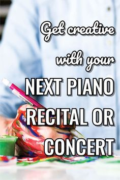 Transform one of your studio recitals into a creativity showcase to give your students a different experience. Piano Recital, Lead Sheet, Christmas Concert, Piano Teaching, New Students, Piano Lessons, Teacher Resources, Good Music, Creativity